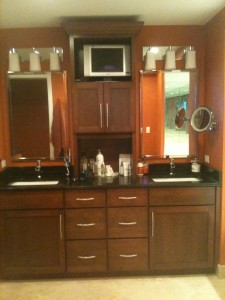Prominade Condominium on Longboat Key Condo master bath remodel - Joe Angeleri
