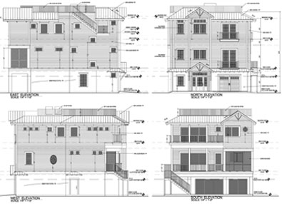 Joe Angeleri - Architectural Design showing Elevations
