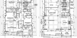 Joe Angeleri - Architectural Design showing living space floor plans