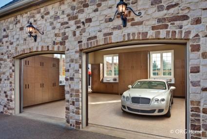 Updated remodel custom garage