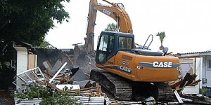 Joe Angeleri - Demolition to make way for new home