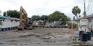 Joe Angeleri - Lot cleaned after demolition for new home