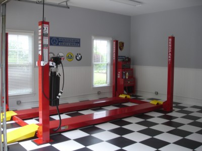 Custom Garage remodel