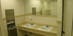 BEFORE - Commercial rest rooms -Joseph Angeleri