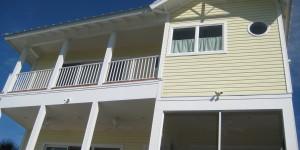 REAR - new waterfront home - custom homes Joe Angeleri