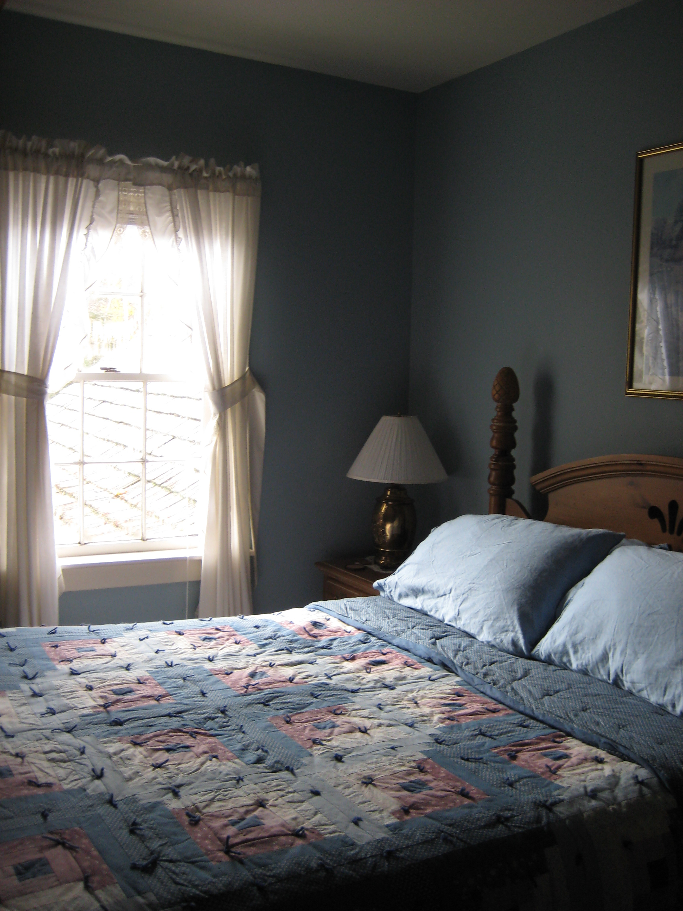 Joe Angeleri - Historic 1790 Greek Revival restoration -Master Bed Room