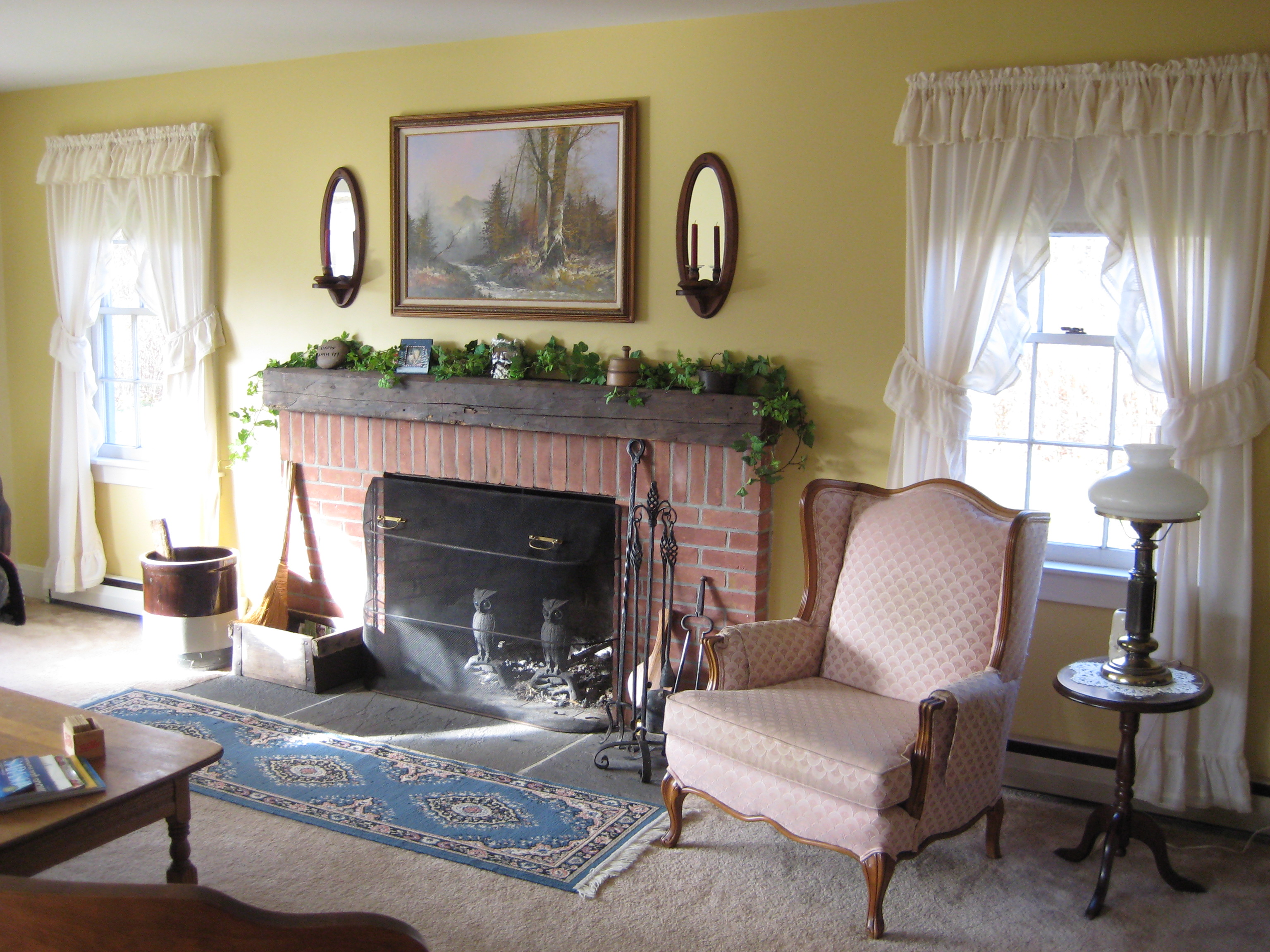 Joe Angeleri - Historic 1790 Greek Revival restoration -Living Room