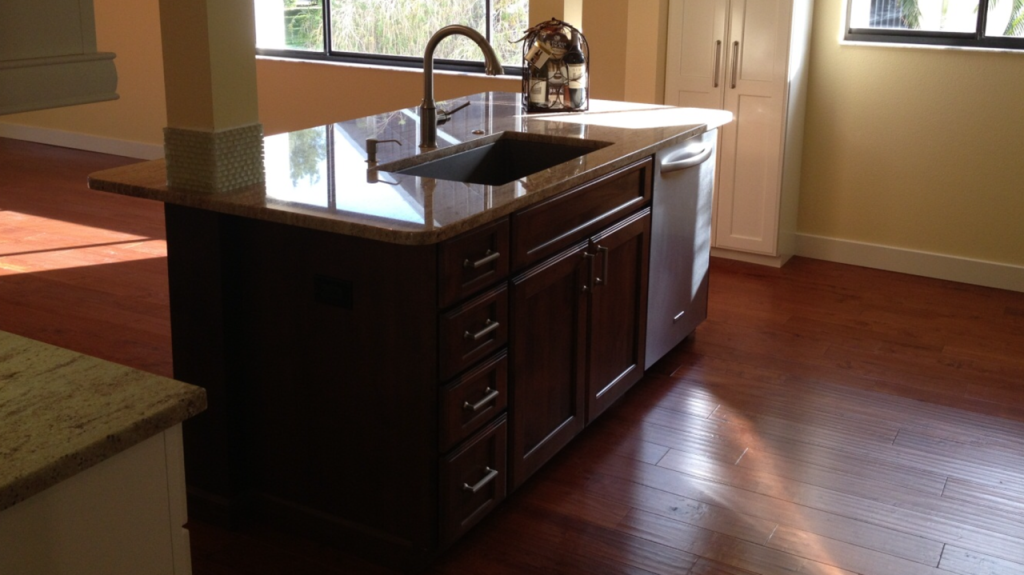 AFTER -Kitchen - Longboat Key - Condo Remodeling Joe Angeleri