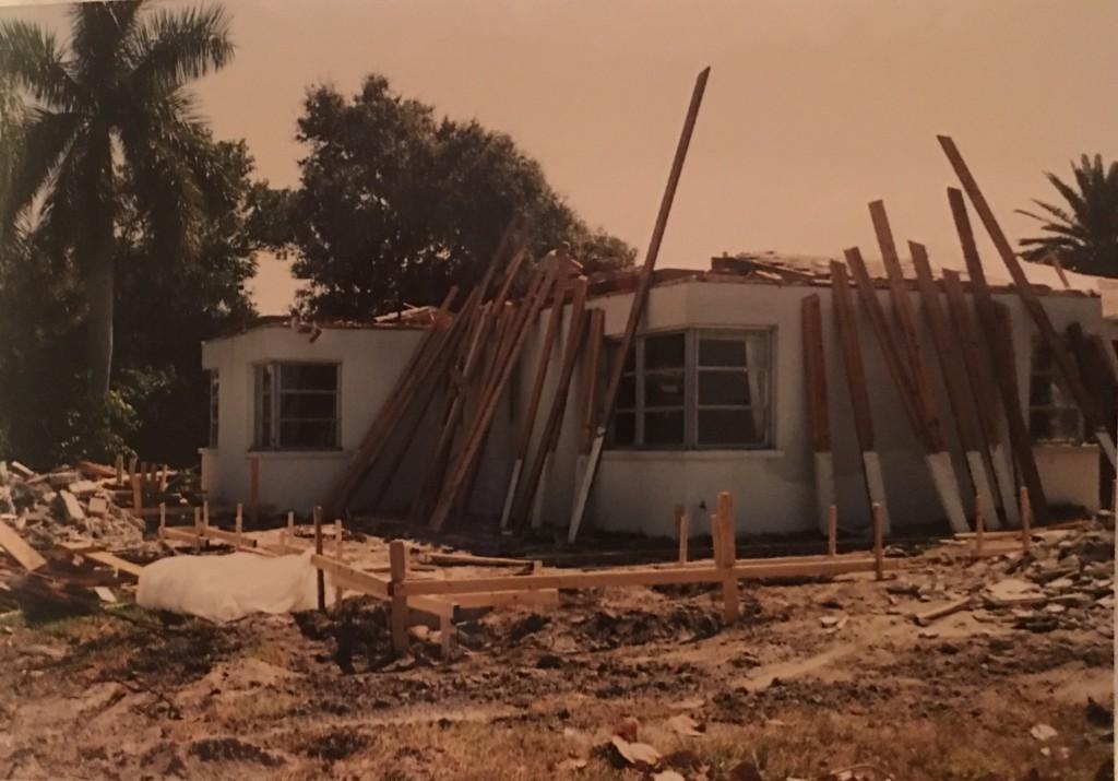 Start of demo - whole house remodeling - Joe Angeleri