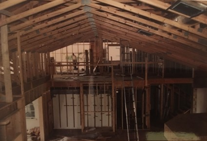 Framing - whole house remodeling - Joe Angeleri
