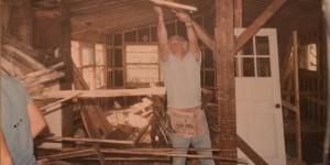 Beginning of interior demo -Historic Restoration - Joe Angeleri