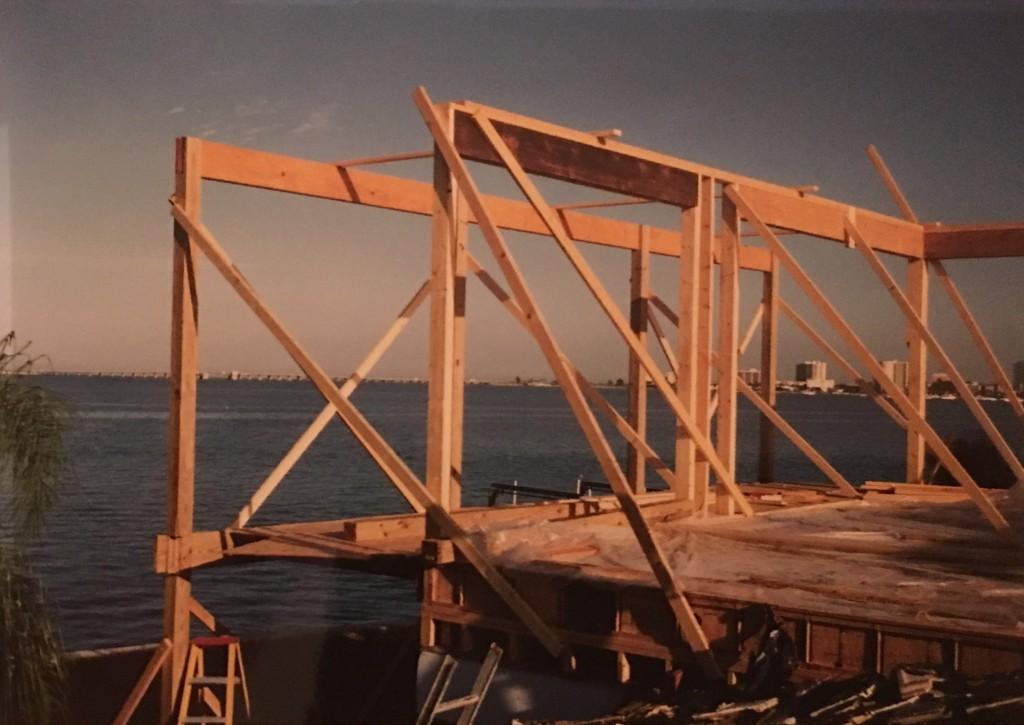 Start of framing - whole house remodeling - Joe Angeleri