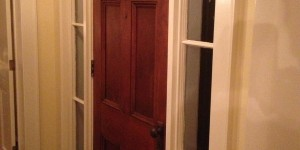 Joe Angeleri - Historic 1790 Greek Revival restoration -Front door
