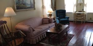 Joe Angeleri - Historic 1790 Greek Revival restoration -Living Room