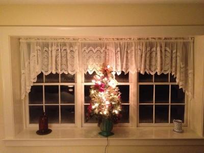 Joe Angeleri - Historic 1790 Greek Revival restoration -family room bay window
