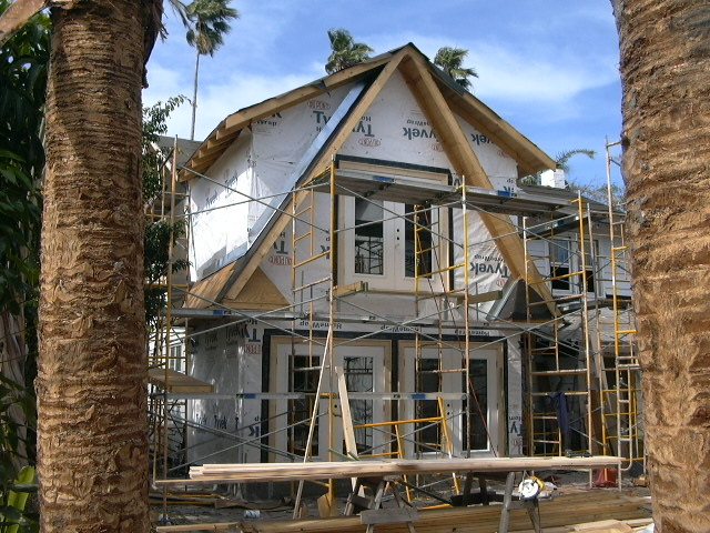 DURING CONSTRUCTION - 1926 Dutch Colonial whole house remodeling - Joe Angeleri
