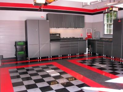 Custom garage - after