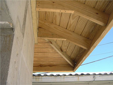 Joe Angeleri - New home soffit detail