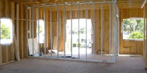 Joe Angeleri - New Home interior framing is metal.