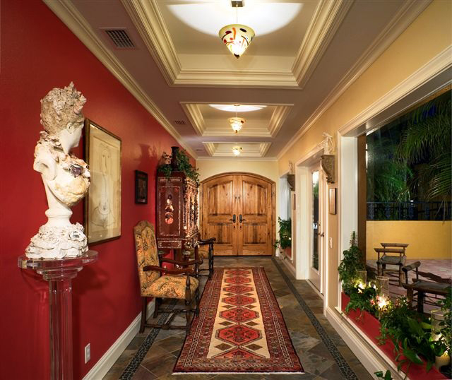 AFTER - Foyer - Joseph Angeleri Harbor Acres remodeling project