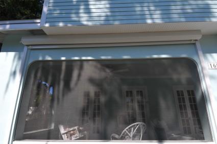 HURRICANE SHUTTERS - 1916 Dutch Colonial whole house remodeling - Joe Angeleri