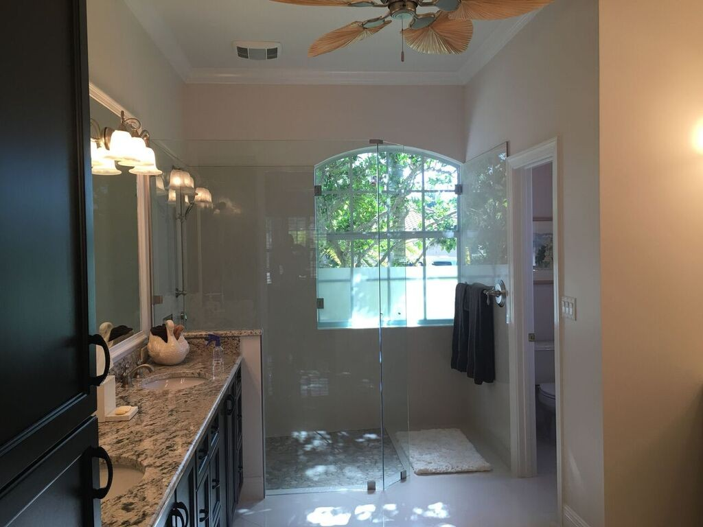 AFTER - master bath Lakewood Ranch Whole House Remodel - Joe Angeleri